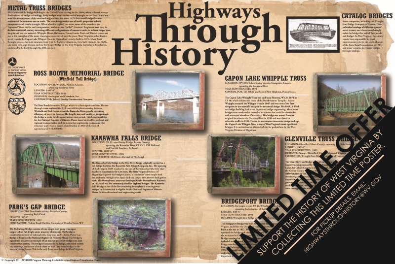 Historic Bridge Poster
